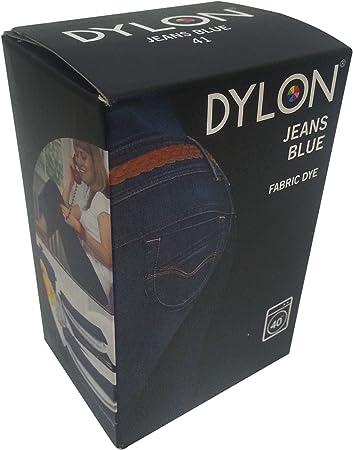 Dylon - Tinte para teñir Tejidos a máquina (200 g), Color Vaquero