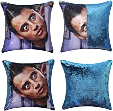 Jasen Friends Joey Tribbiani Sequin Pillow Cover Magic Two Color Changing Pillowcase Mermaid Pillow Custom Pillow Cover He...