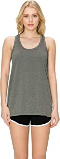EttelLut Cotton Loose Fit Tank Tops-Relaxed Athletic Workout Flowy for Women