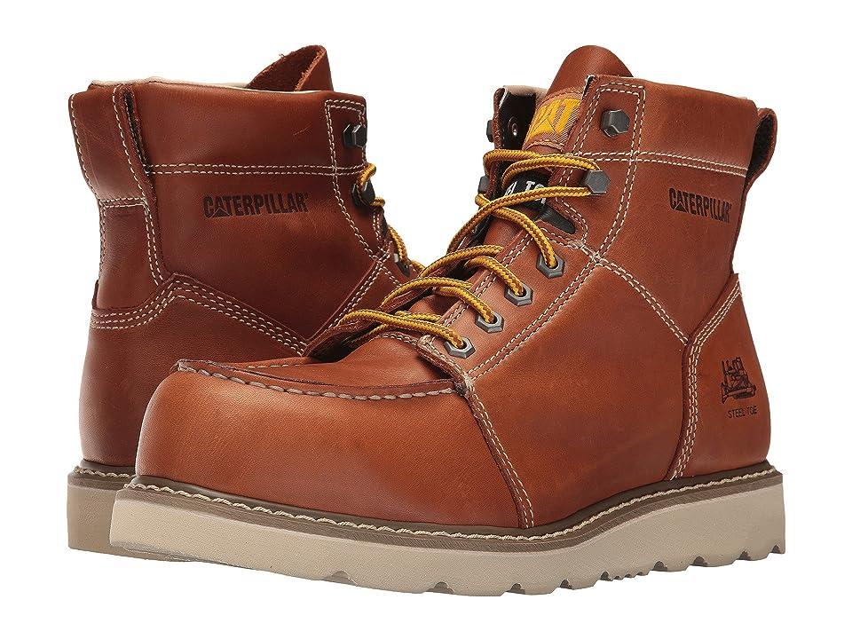 Caterpillar Tradesman Steel Toe (Brown) Men