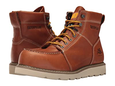 Caterpillar Tradesman Steel Toe (Brown) Men