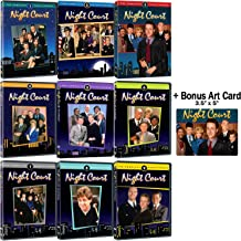 Night Court: Complete Series Seasons 1-9 DVD Collection + Bonus Art Card