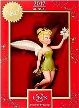 Lenox Disney 2017 Tinkerbell Figurine Ornament Annual Up & Away Tree Star Peter Pan Fairy Pixie