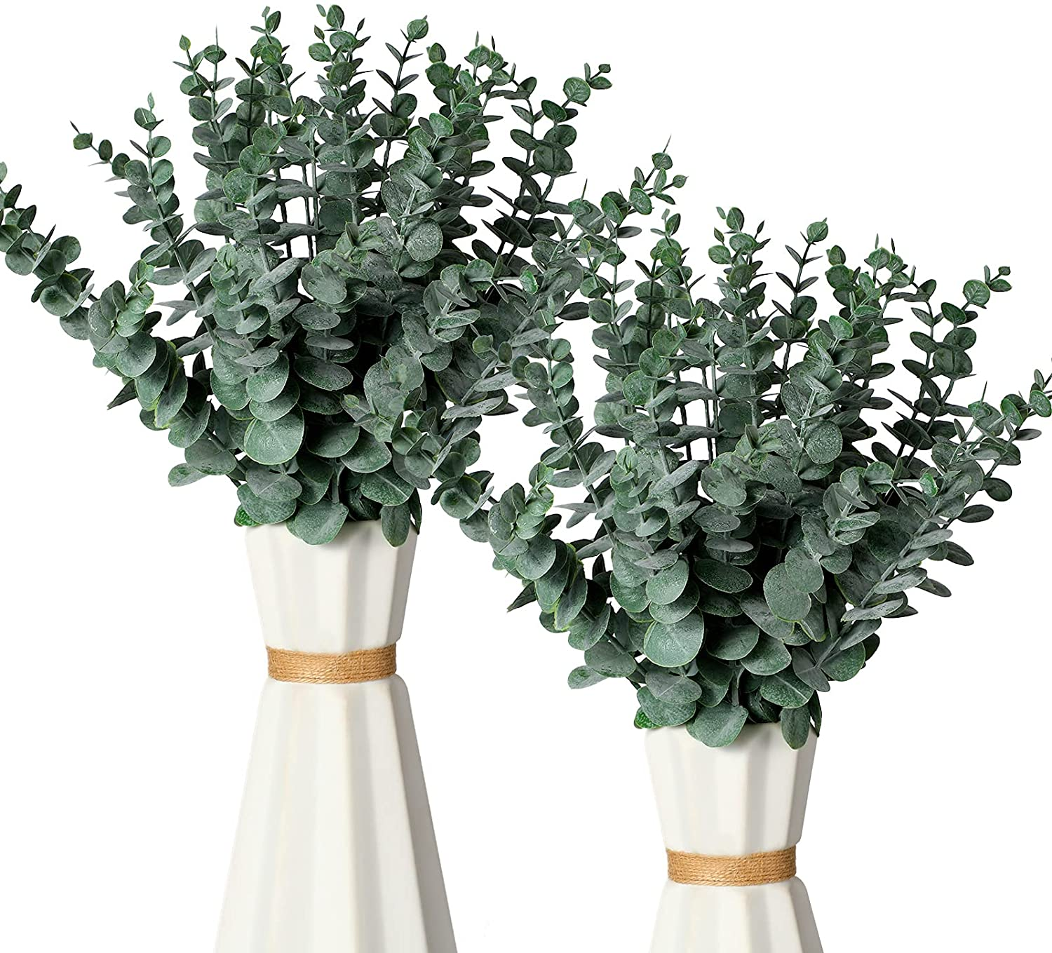 30 Pieces Artificial Eucalyptus Stem Touch F Online limited product 2021 autumn and winter new Inch Realistic 14.1