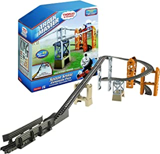 Thomas and Friends Year 2014 Trackmaster Series Track Set - SODOR Spiral Expansion Pack with Building Risers, Straight and Curved Tracks
