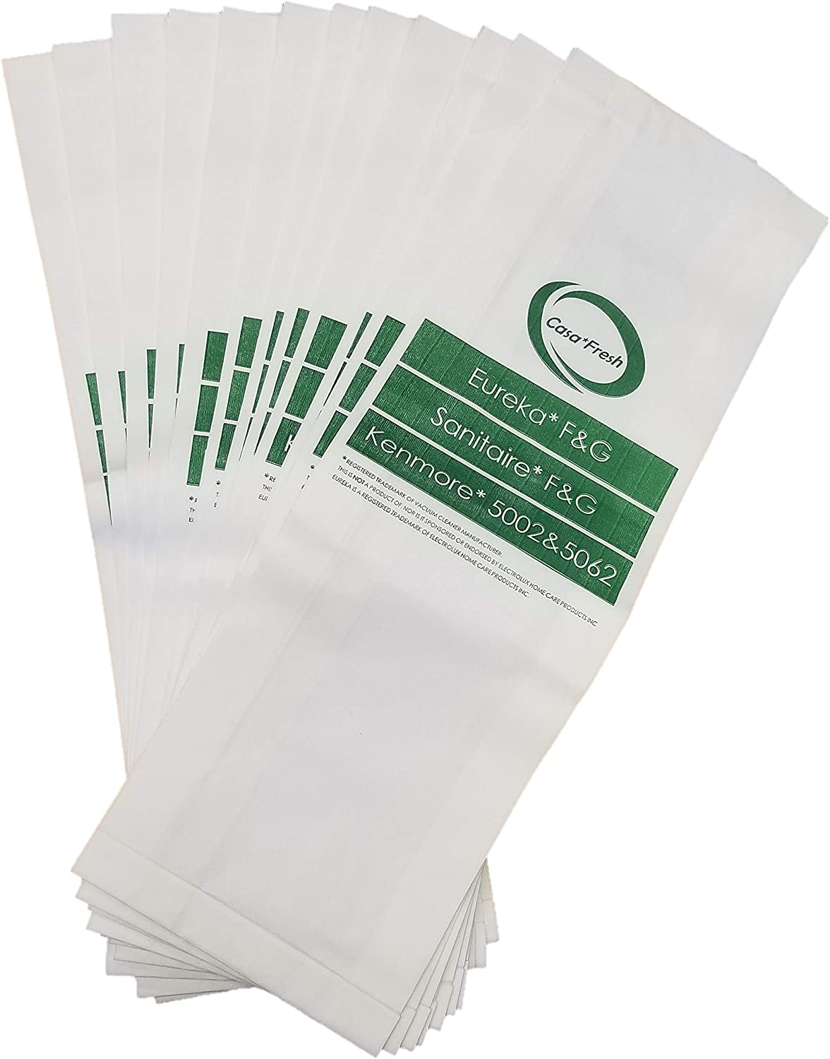 12 Bags for Eureka Style FG service Lowest price challenge Sanitaire F Cleaner G Vacuum Commer