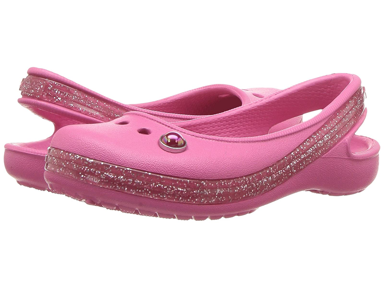 Crocs Kids Genna II Sparkle Band Sling (Toddler/Little Look Kid/Big Kid) / Attractive Look (Toddler/Little /Man's/Woman's 899d32