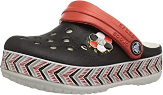 Kids' Drew Barrymore Crocband Chevron Clog