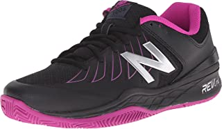 New Balance Women's WC1006v1 Black/Pink Sneaker 6 D - Wide