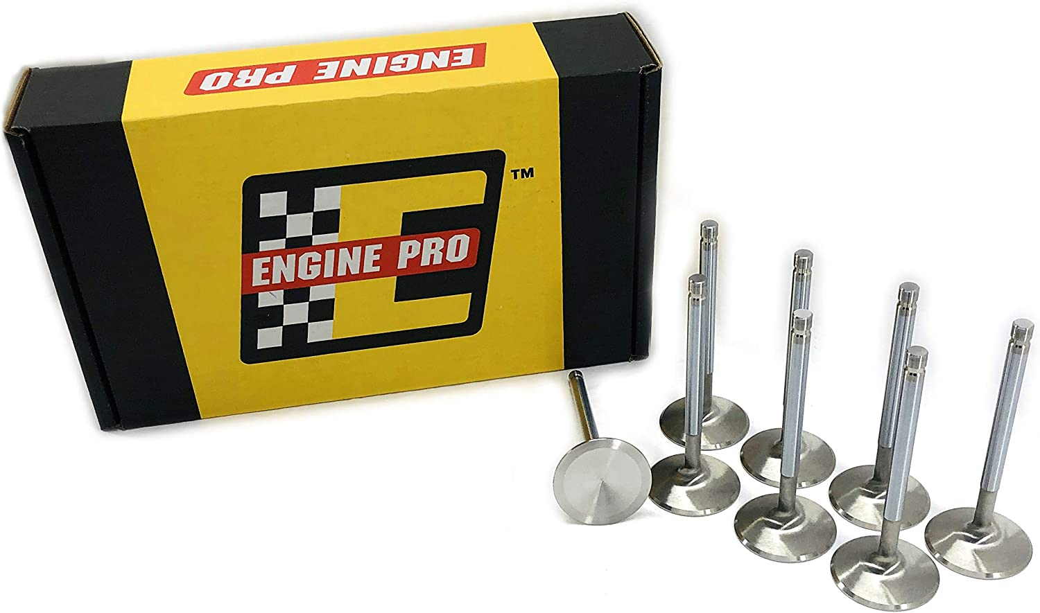 Engine Pro 01-2008-150 SBC Chevy Stainless X 5 Intake Challenge the lowest price Max 80% OFF 2.08 Valve
