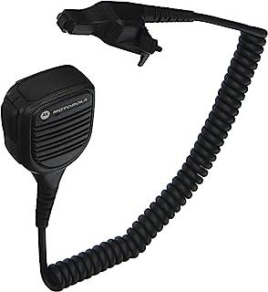 Motorola Original OEM PMMN4051 PMMN4051B Windporting Remote Speaker Microphone with 3.5mm Audio Jack, IP55 Water Resistant...
