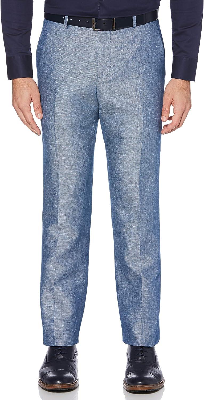 supreme Perry Ellis Miami Mall Men's Portfolio Modern Fit Pants Linen Blend