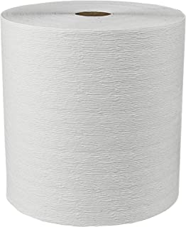 Scott Essential (Formerly Kleenex) Plus Hard Roll Paper Towels (50606) with Premium Absorbency Pockets, Whi...