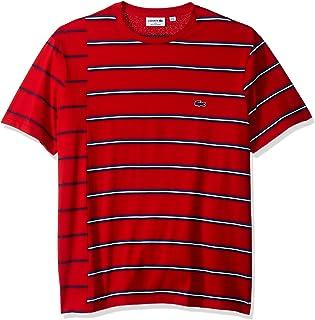 5bd1763d8 Lacoste Men s Made in France Broken Stripe T-Shirt