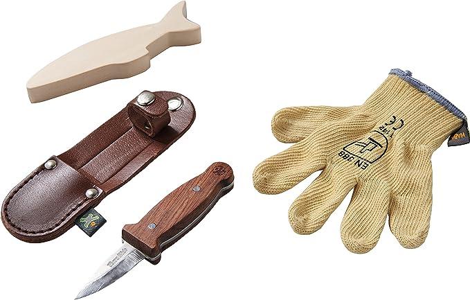 Echtes Werkzeug für Kinder - Echtes Kinderwerkzeug - HABA Schnitzhandschuh-Set