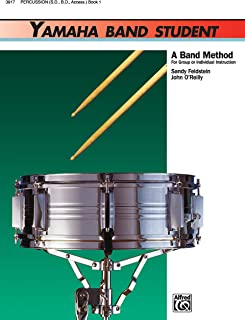 Yamaha Band Student Book 1 - Percussion