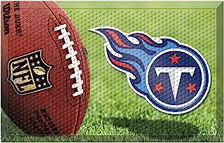 "FANMATS 19000 Team Color 19"" x 30"" Tennessee Titans Sc Mat (NFL Ball)"