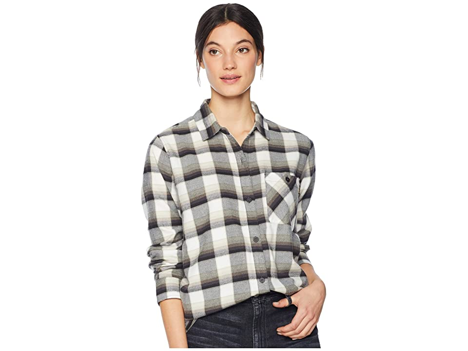 Burton Grace Flannel (True Black Sunset Plaid) Women's Clothing, Multi
