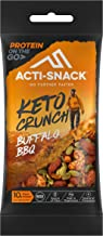 ACTI-SNACK Buffalo BBQ Keto Crunch Sports Nutrition Snacks Buffalo BBQ Almonds Cashews Tamari Pumpkin Seeds Keto Certified High in Plant Protein Vegan 12 x 40g Estimated Price : £ 18,00