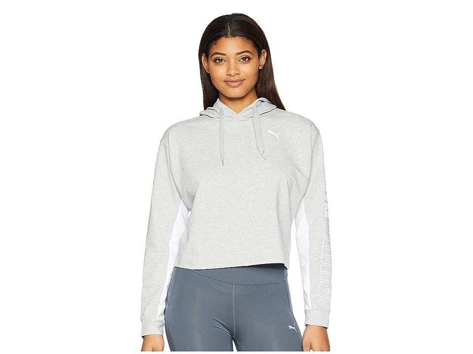 PUMA Modern Sport Hoodie (Light Gray Heather) Women