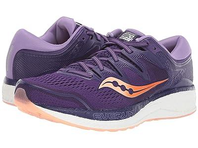 Saucony Hurricane ISO 5 (Purple/Peach) Women