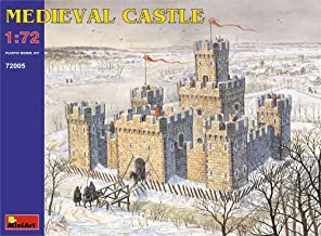 MiniArt 1/72 Scale Medieval Castle Plastic - Historical Miniatures Series Plastic Model Kit 72005