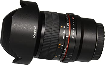 Rokinon FE14M-MFT 14mm F2.8 Ultra Wide Lens for Micro Four-Thirds Mount and Fixed Lens for Olympus/Panasonic Micro 4/3 Cam...
