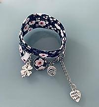 Braccialetto Liberty multicolore, gioiello Liberty, bracciale in tessuto liberty, idea regalo, bracciale profumato, gioiel...