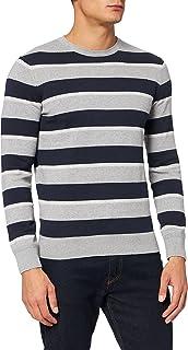 TOM TAILOR Herren Stripe Pullover