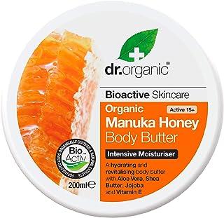 DR ORGANIC Manuka Honey Body Butter, 0.26201 kg,DR00132
