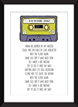 Alice in Chains Would Lyrics - Unframed Print