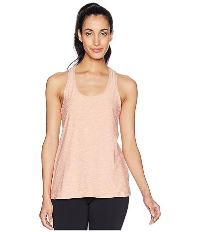 Beyond Yoga Double Up Racer Tank Top (Rainwash/Pink Shell) Women