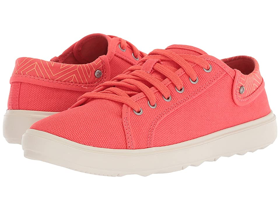 Merrell Around Town City Lace Canvas (Hot Coral) Women