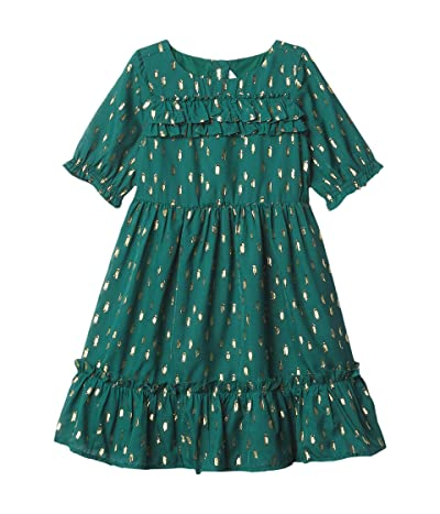 Janie and Jack Fil Coupe Dress (Toddler/Little Kids/Big Kids) (Multi) Girl