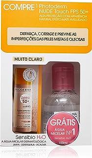 Kit Photoderm Nude Touch Mc + Sensibio H2O 100Ml Gratis, Bioderma, Muito Claro, 40 Ml