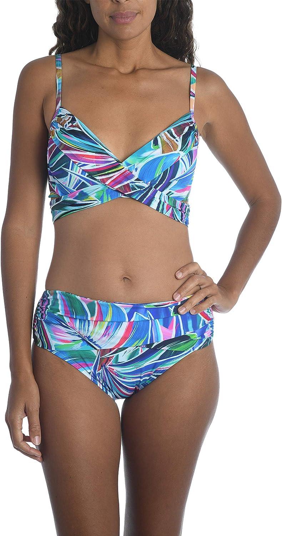 La Blanca All stores are sold Women's Standard Swimsuit Free shipping Top Wrap Bikini
