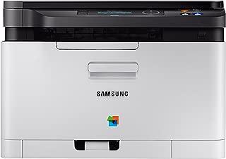 Samsung Xpress SL-C480W/TEG 18/4 PPM Colour Laser All-In-One Printer (White)