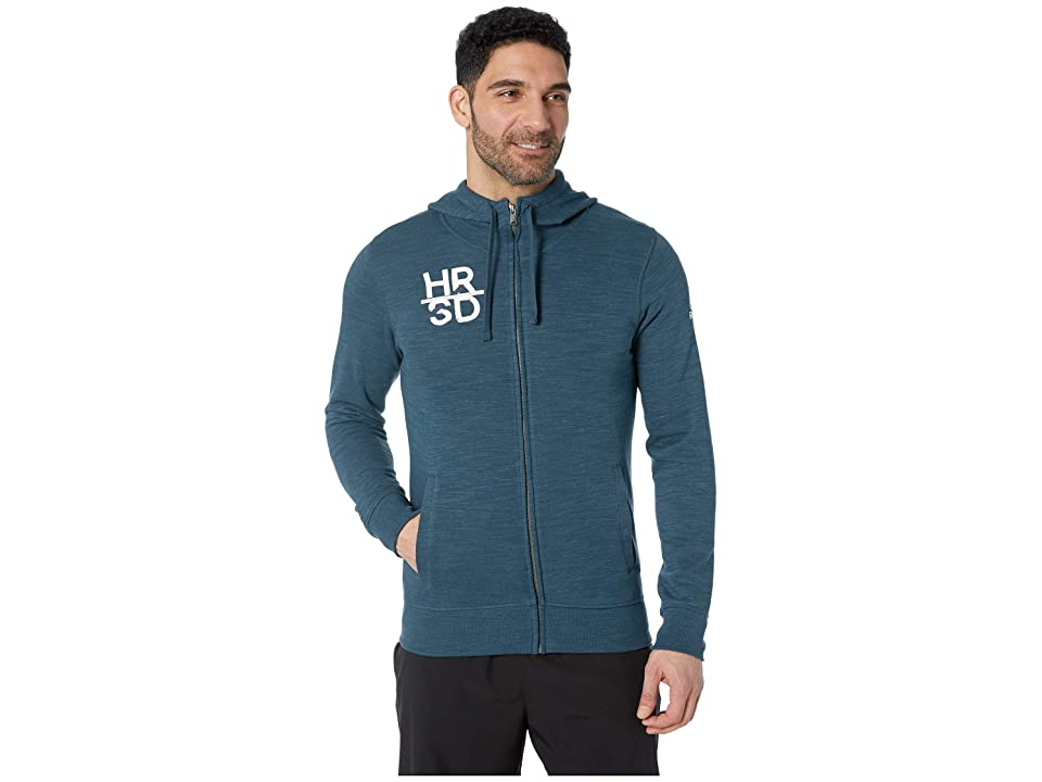 Reebok UFC Full Zip Hoodie (Blue Hills) Men
