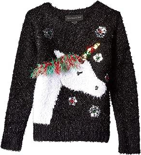 Girls Ugly Christmas Sweater Unicorn