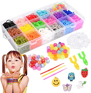 LET'S GO! Toy for 4-12 Year Old Girls, Friendship Bracelet Making Kit for Girls Toys Ages 4-10 Great Kids Creativity DIY X...