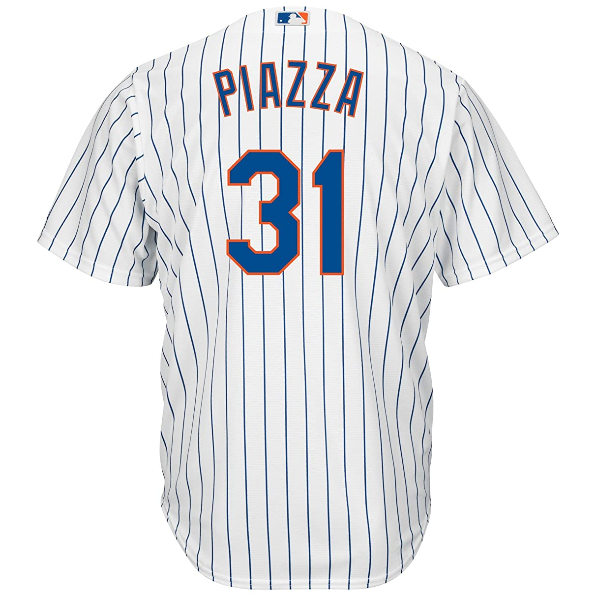 Outerstuff Mike Piazza New York Mets #31 Youth Cool Base Home Jersey
