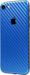 Blue Carbon Fiber SKINTZ Protective Skin Wrap Compatible with iPhone 7