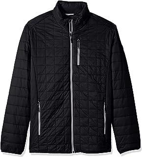 Cutter & Buck mens Weather Resistant Primaloft Down Alternative Rainier Jacket Down Alternative Coat