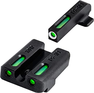 TRUGLO TFX Tritium and Fiber-Optic Xtreme Handgun Sights for Springfield XD, XDM (excluding 5.25