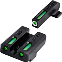 TRUGLO TFX Tritium and Fiber-Optic Xtreme Handgun Sights for Springfield XD, XDM (excluding 5.25