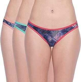 BODYCARE Pack of 3 Printed Bikini Briefs
