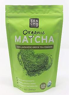 Everyday Matcha 100% Japanese Green Tea Powder, Sen Cha naturals,One bag, 1 LB