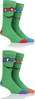tmnt socks mens