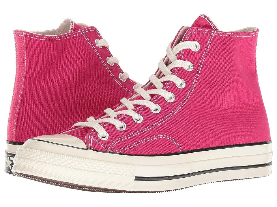 Converse Chuck 70 Seasonal Hi (Pink Pop/Black/Egret) Shoes