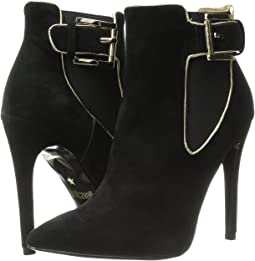 High Heel Ankle Boot w/ Piping